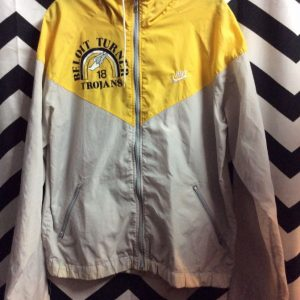 NIKE WINDBREAKER BELOIT TURNER TROJANS 18 1