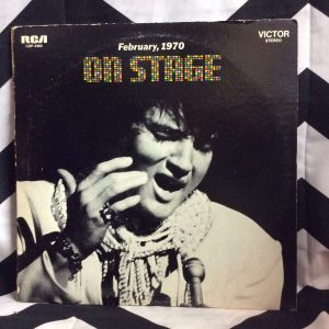 VINYL ELVIS PRESLEY ON STAGE LP 1