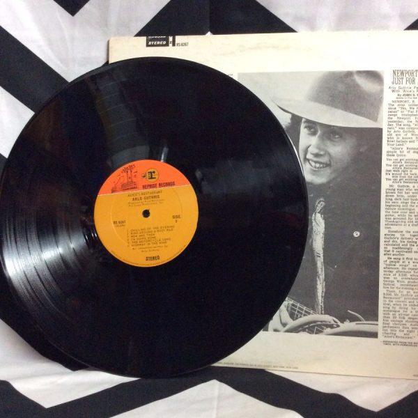 VINYL ARLO GUTHRIE ALICE'S RESTAURANT LP 3