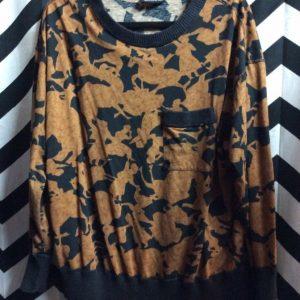 Abstract Man Woman Horse Pattern Sweatshirt 1
