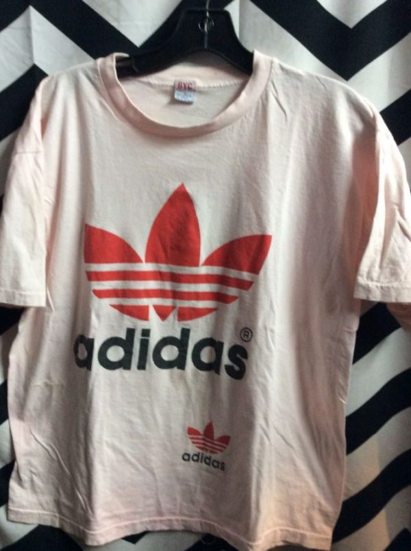 product details: ADIDAS T SHIRT W/ LOGO AS IS photo