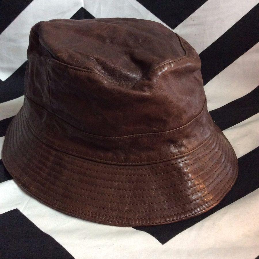 HERMES LEATHER BUCKET HAT » Boardwalk Vintage 8b4982ee28f