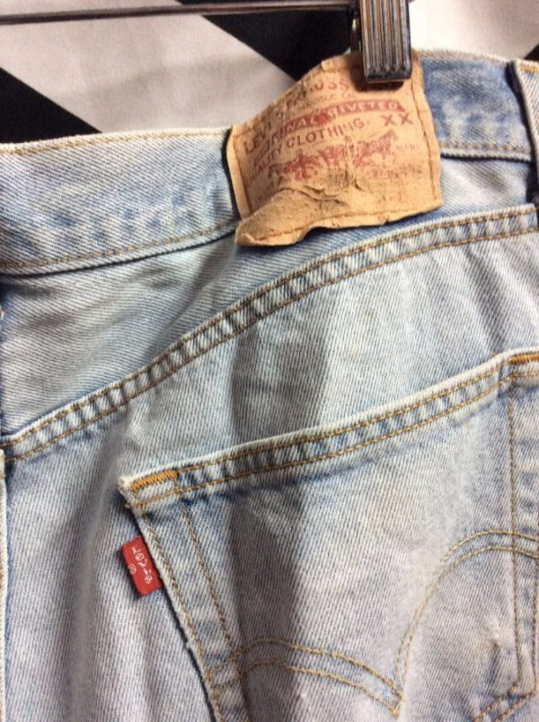 LEVIS 501 JEANS PERFECT FADE+SHRED 3