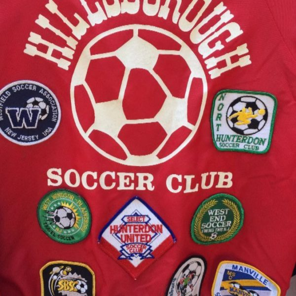 RETRO BASEBALL JACKET FULLY PATCHED SOCCER 4
