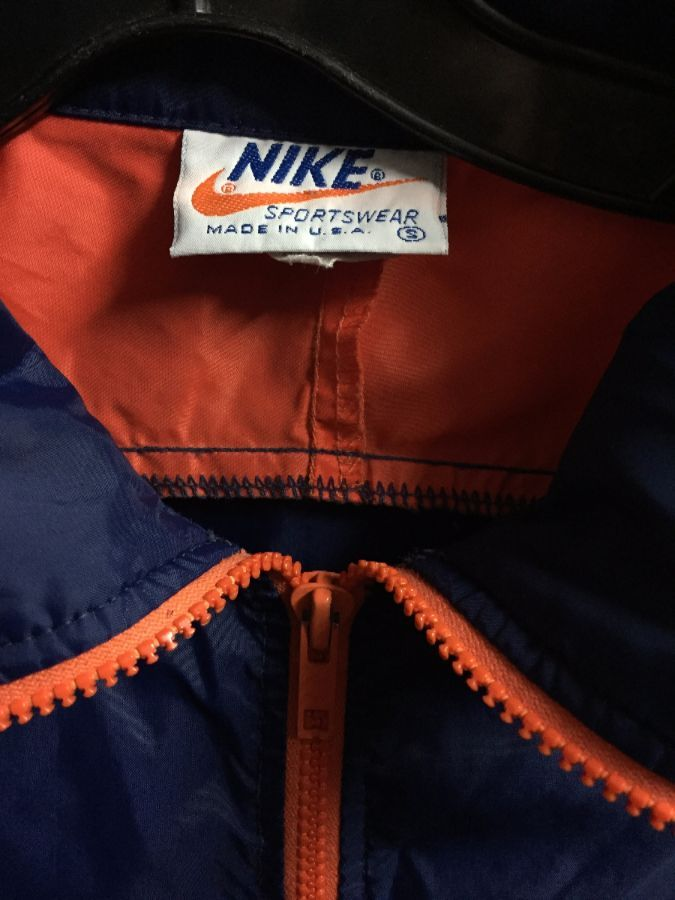 RETRO 1970 S 1 3 ZIP-UP PULLOVER NIKE WINDBREAKER » Boardwalk Vintage f4298d992