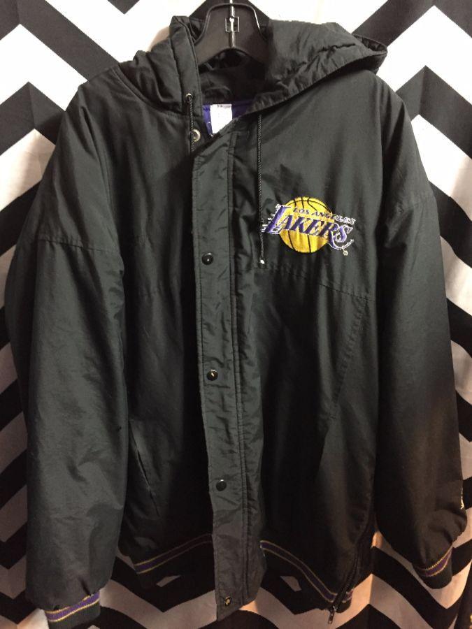 Nba Los Angeles Lakers Parka Jacket Boardwalk Vintage