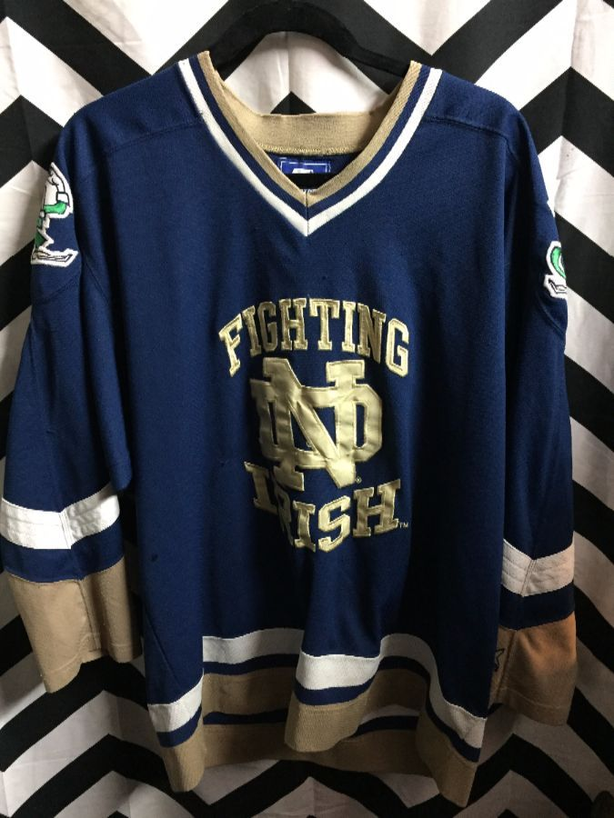 buy popular b46ea 87e39 NCAA NOTRE DAME FIGHTING IRISH JERSEY
