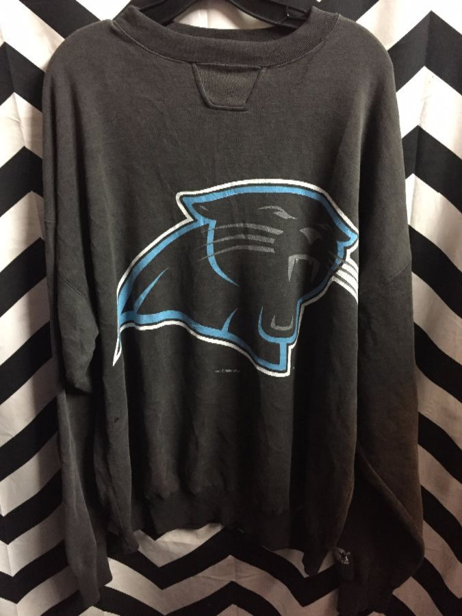 NFL Carolina Panthers Super Soft Faded Pull Over 1