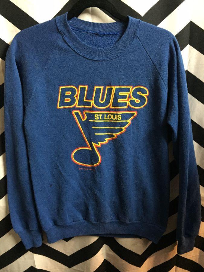 2f5e1f2411 NHL ST. LOUIS BLUES PULLOVER SWEATSHIRT
