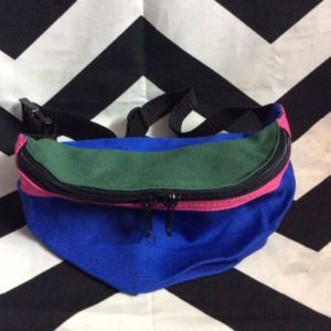 DEADSTOCK FANNY PACKS 3 COLOR BLOCK 1