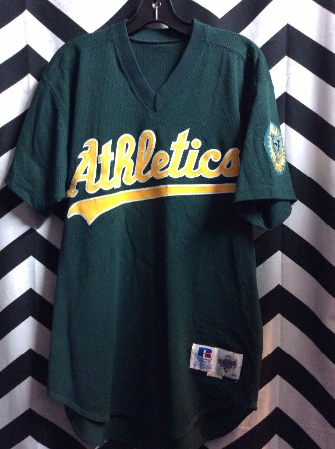 Oakland Athletics Baseball Jersey 79 W Arm Patch Boardwalk Vintage