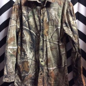 LS BD HUNTING SHIRT TREE BRANCH PATTERN 1