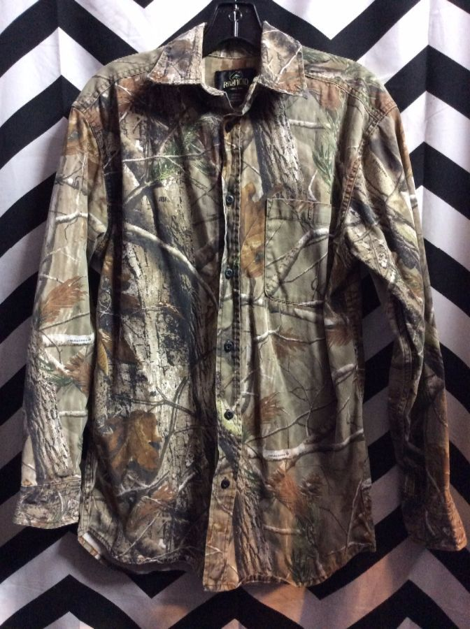 product details: HUNTING SHIRT W/TREE BRANCH PATTERN photo