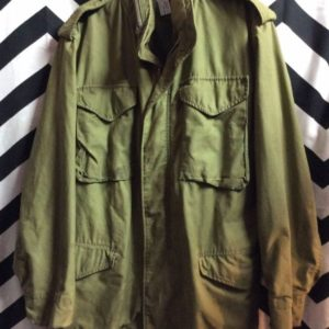 MILITARY JACKET VIETNAM ERA DISTRESSED 1