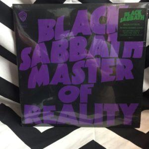 BW VINYL BLACK SABBATH - MASTER OF REALITY 1