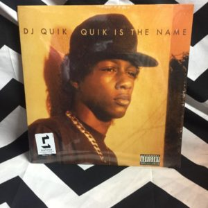 BW VINYL DJ QUIK - QUIK IS THE NAME 1
