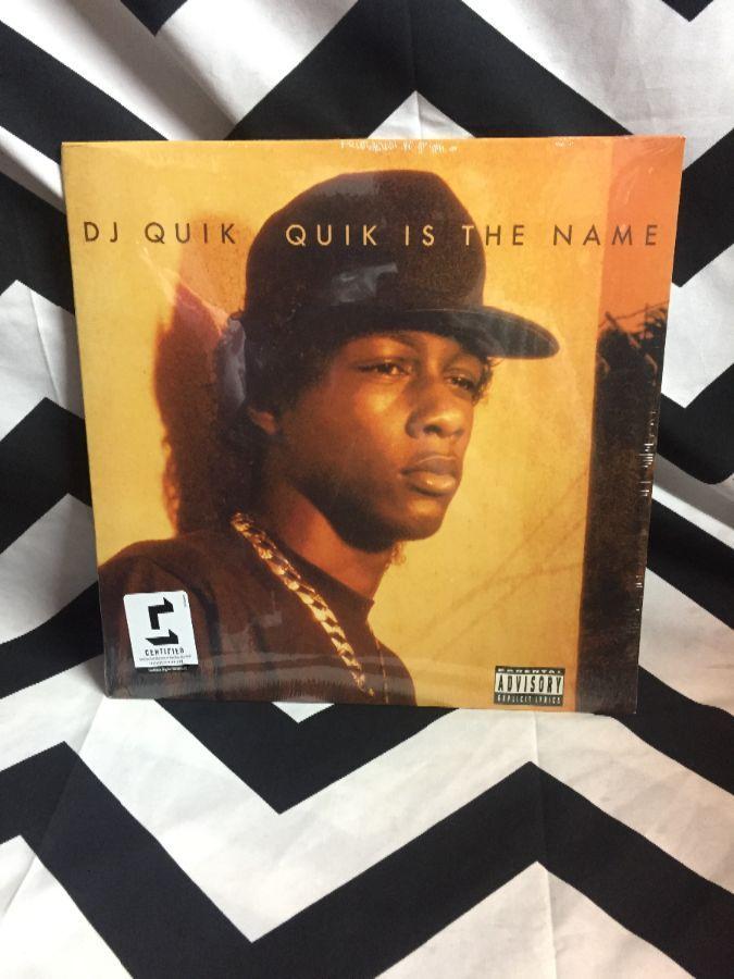 product details: BW VINYL DJ QUIK - QUIK IS THE NAME photo
