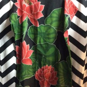 FLORAL PATTERN SURRONG DRESS 1