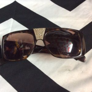 RETRO HIPHOP SUNGLASSES GOLD LOGOS 1