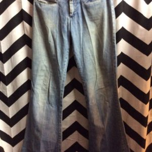 BELL BOTTOM SOFT FADDED DENIM PANTS 1