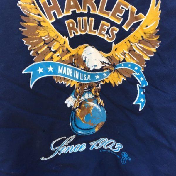 PUFFY BASEBALL JACKET HARLEY DAVIDSON