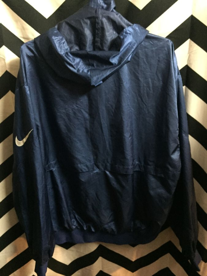 Rare Japanese Nike Zipup jacket w  removable hood and purple thermal lining  2 9773474a7