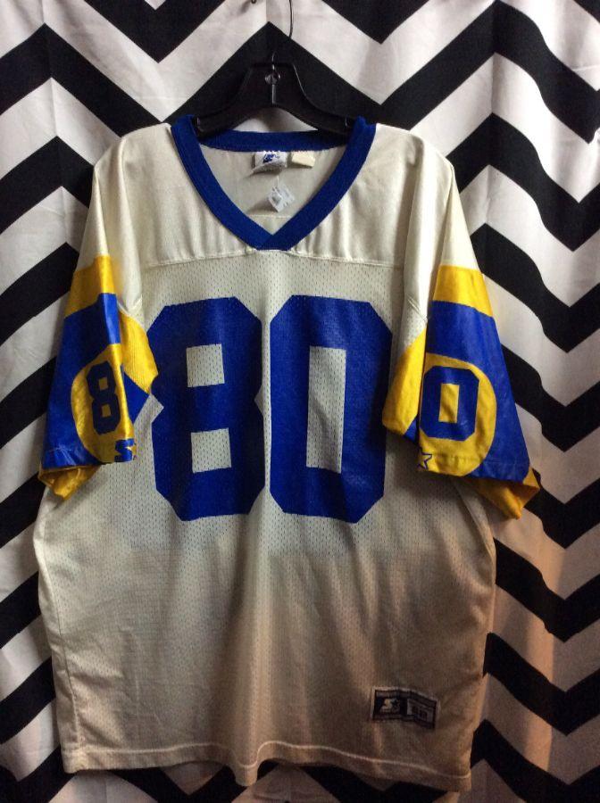 NFL LA RAMS JERSEY BRUCE #80 as-is 1