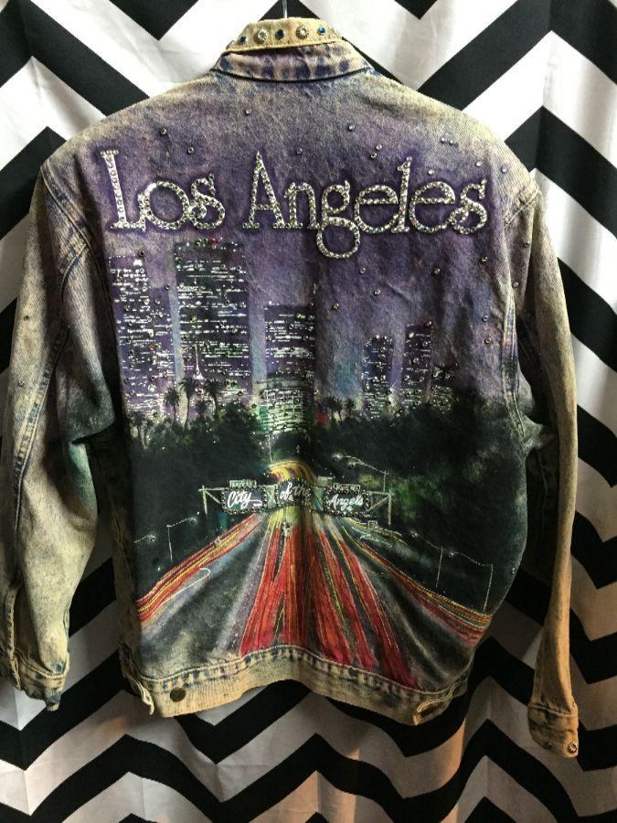 Tony Alamo Los Angeles Airbrushed Amp Embellished Denim