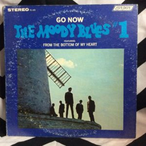 VINYL THE MOODY BLUES #1 - GO NOW 1