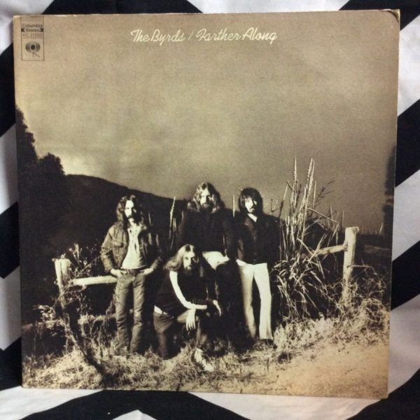 VINYL THE BYRDS - FARTHER ALONG 1