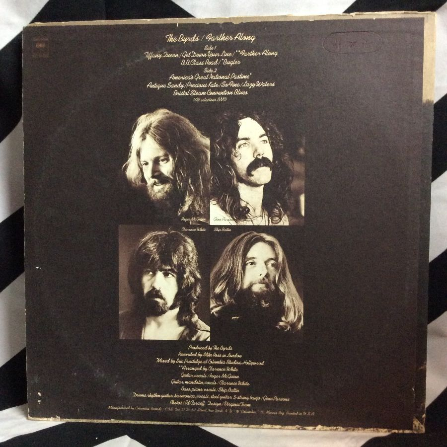 VINYL THE BYRDS - FARTHER ALONG 2