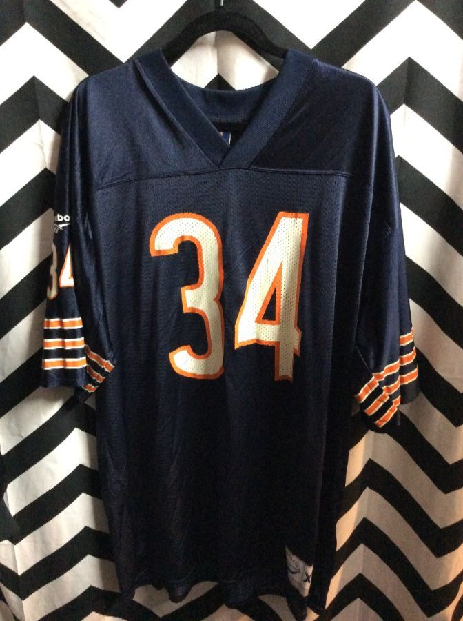 f37f75fb ... norway nfl chicago bears 34 walter payton throwback jersey boardwalk  vintage 3c899 739e1