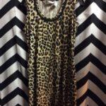 Tank Dress Cheetah Print Cotton 1