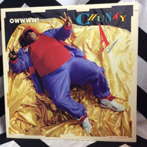 product details: VINYL RECORD CHUNKY A – OWWWW SINGLE photo