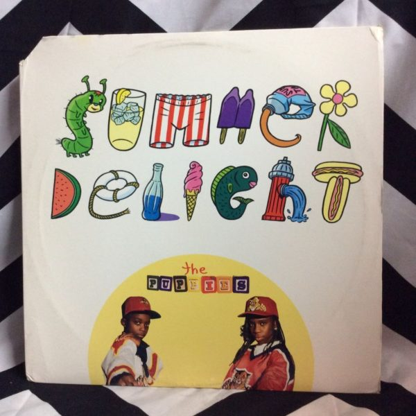 product details: VINYL RECORD THE PUPPIES – SUMMER DELIGHT SINGLE photo