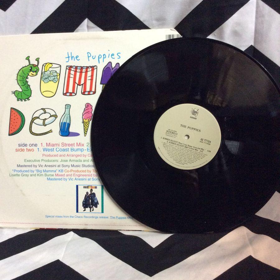 VINYL THE PUPPIES - SUMMER DELIGHT SINGLE 3
