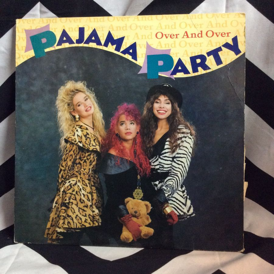 VINYL PAJAMA PARTY - OVER AND OVER SINGLE 1