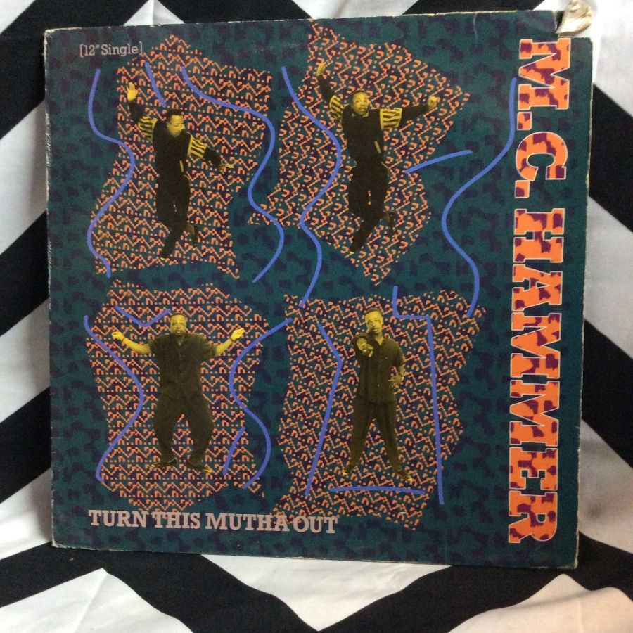 VINYL MC HAMMER - TURN THIS MUTHA OUT SINGLE 1