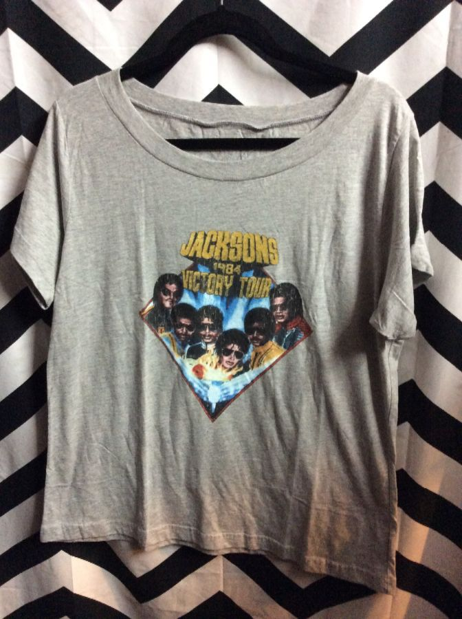 Jacksons 1984 Victory Tour T-shirt 1