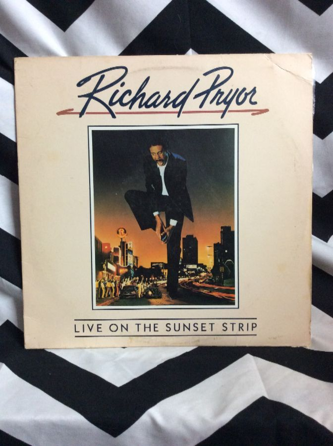 RICHARD PRYOR - LIVE ON THE SUNSET STRIP + (VERY BEST OF) 1