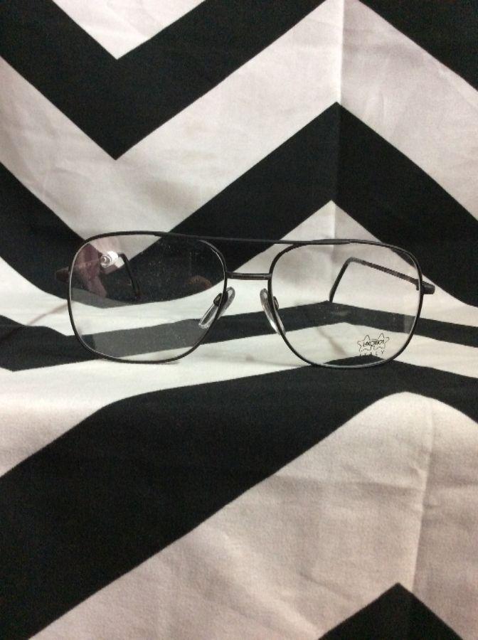 Glasses Wire Frames Aviator Square 1