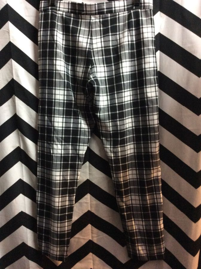 Pants Plaid New with Tags 1