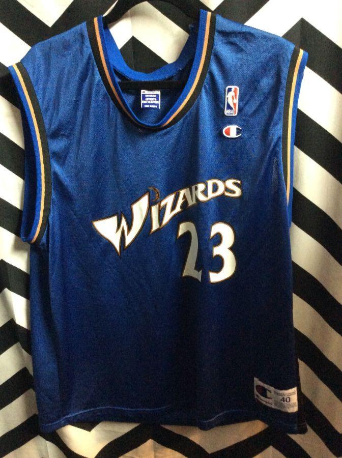 6b30c05a79b NBA WASHINGTON WIZARDS  23 JORDAN BASKETBALL JERSEY » Boardwalk Vintage