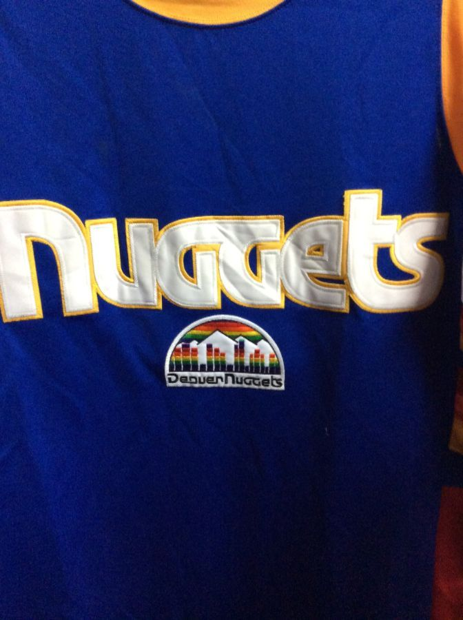NBA DENVER NUGGETS HARDWOOD CLASSIC THROWBACK JERSEY » Boardwalk Vintage 28b47faa9