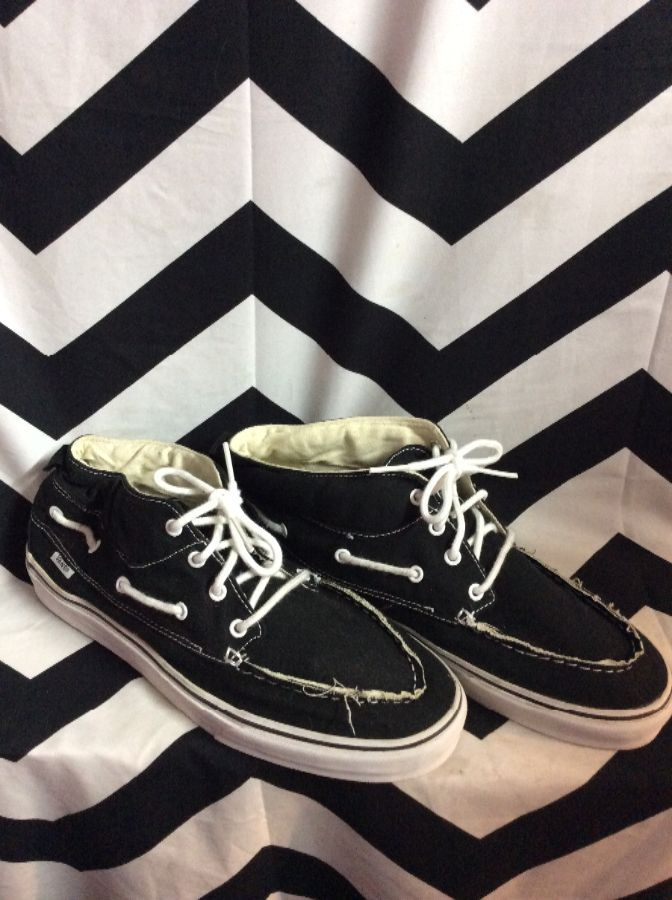 VANS BOAT SHOES 1