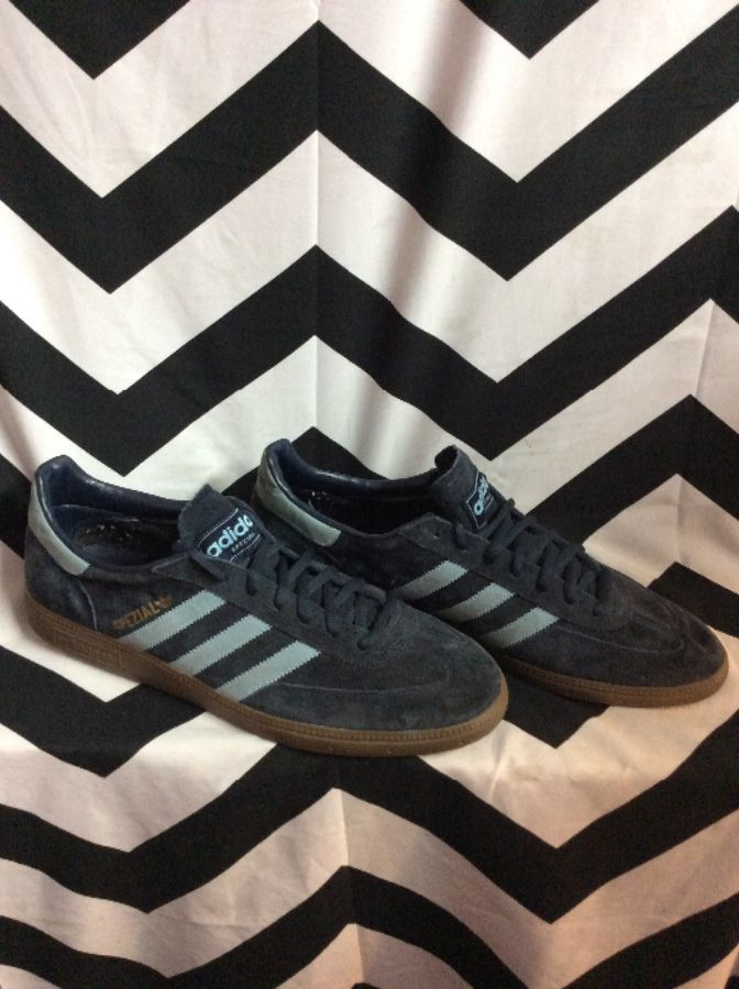 ADIDAS SPEZIAL SUEDE BLUE LACE UP 1