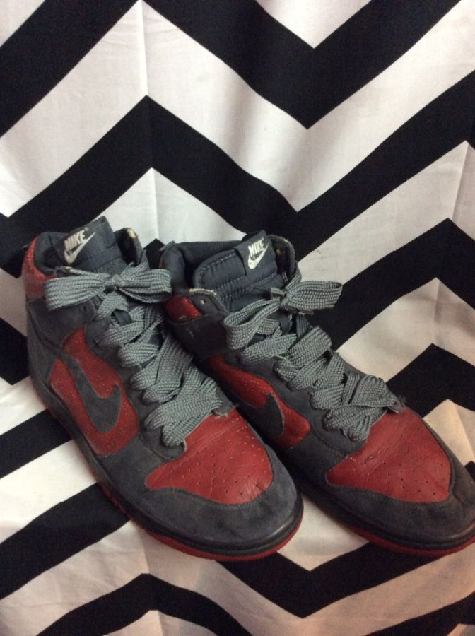 product details: HIGH-TOP SNEAKERS NIKE DUNKS LACE-UP photo