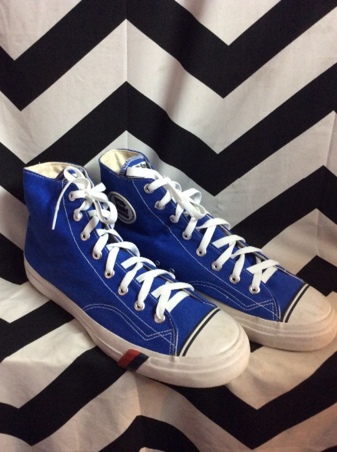 PRO KEDS HIGH TOP LACE UP BLUE 1