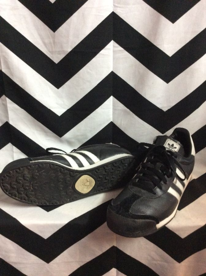 ADIDAS SAMOA LEATHER SHOES 1