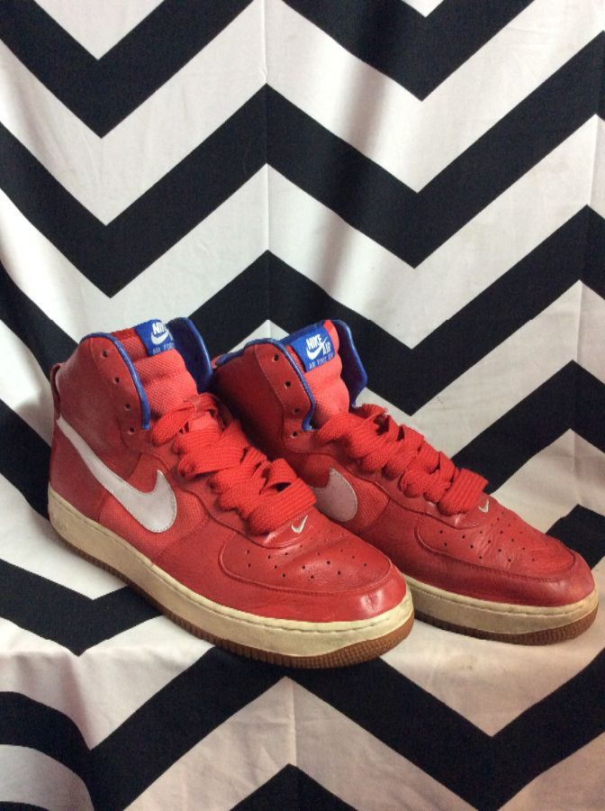 product details: AIR FORCE 25 PHILADELPHIA 76ER'S NIKE HIGH TOP SNEAKERS photo
